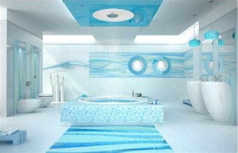 bright beautiful blue bathrooms furniture home attractive bright sky blue and white bathroom interior