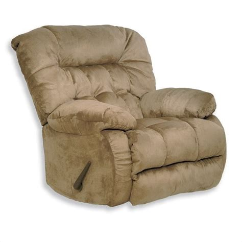 Oversized Rocker Recliner Teddy Oversized Rocker Recliner Chair In Saddle 45172222029