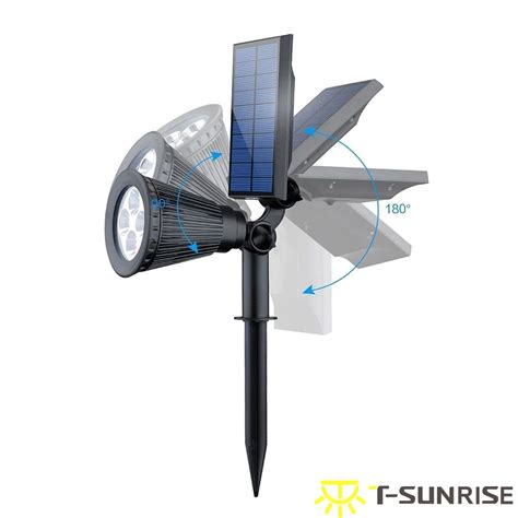 solar led spot lights spotlights garden lights outdoor