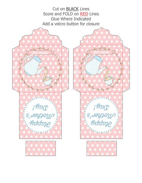 S Day Tea Bag Card Template by Diy S Day Gift Ideas Printable Tea Bag Greeting