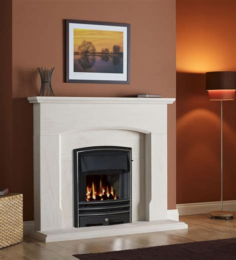 Portuguese Limestone Fireplace by Gallery Dacre Portuguese Limestone Fireplace Stanningley