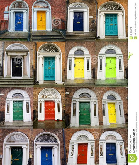 colorful door colorful doors collage stock photo image 41305174