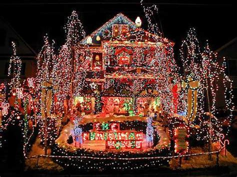 christmas house lights crazy christmas lights 15 extremely over the top outdoor displays brit co
