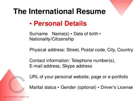 detail resume images