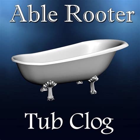 Bathtub Clogs by Bathtub Tub Clog Drain Cleaning