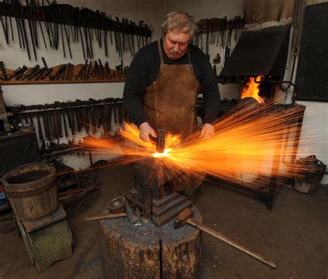 image gallery blacksmith working