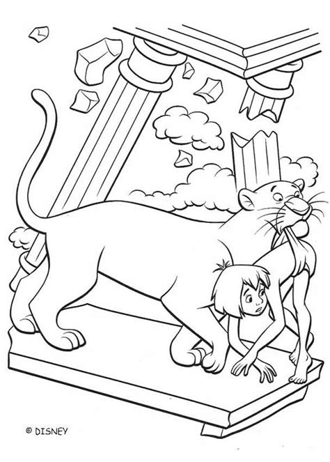 jungle book coloring pages king louie king louie kingdom coloring pages hellokids com