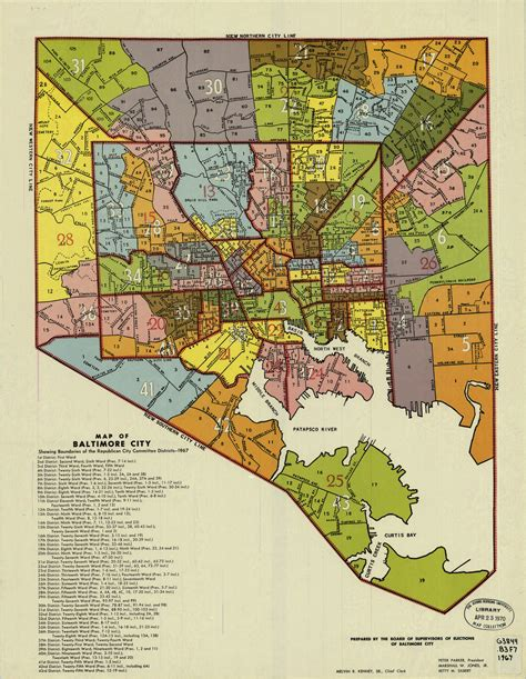 Baltimore City Records Map Of Baltimore City My