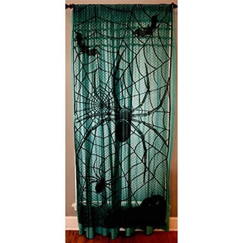 halloween window curtains decor archives scary find