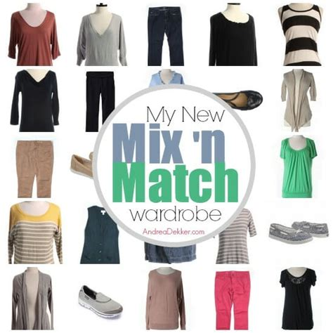 Mix And Match Wardrobe by New Mix N Match Wardrobe Andrea Dekker