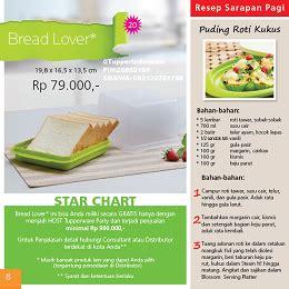 Mosaic Bread Lover Tupperwere tupperware indonesia bread lover