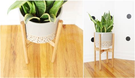 How To Make A Plant Holder - 187 how to build a wooden plant stand pdf sauna