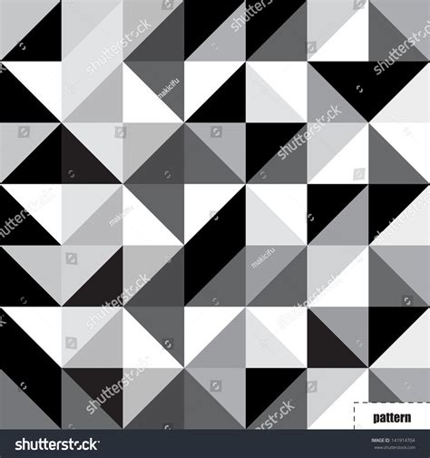 black triangle pattern vector black white triangle pattern background texture stock