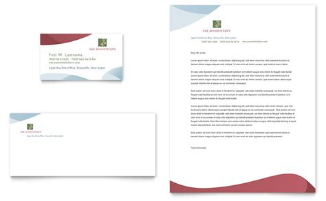 Tax Accounting Services Business Card & Letterhead