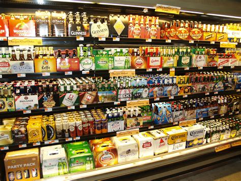 tlatet convenience stores and supermarkets file beer at a grocery store in new york city jpg