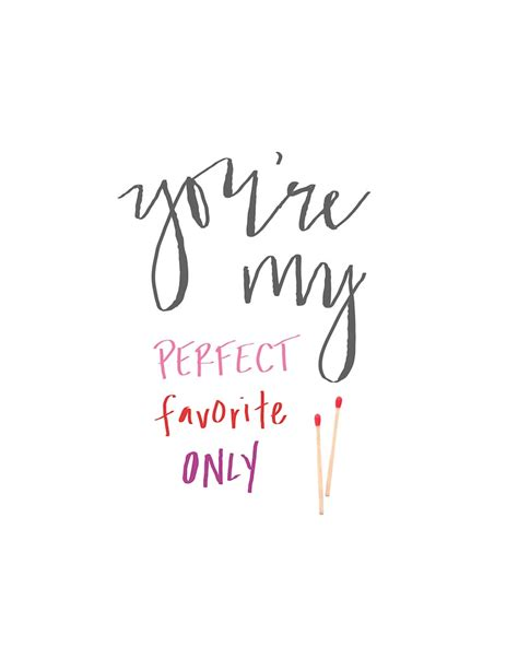 you are my perfect match quotes