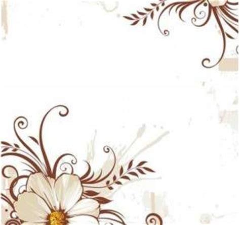 desain kartu ucapan bunga bunga vector latar belakang vector latar belakang vektor