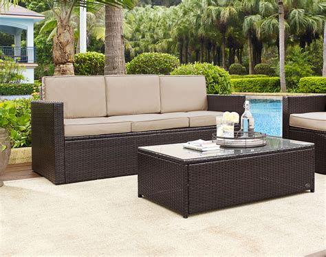 city furniture outdoor furniture patio living room sets the aldo outdoor living room collection brown value