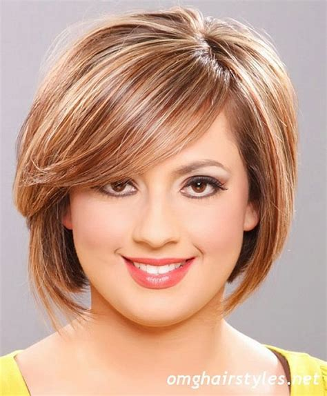 haircuts for round face shapes short haircut for round face shapes my style pinterest