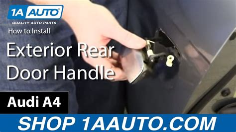 service manual 2007 audi s6 remove the passenger side sun visor mirror new oem ulo audi a6 how to install exterior rear door handle 2002 09 audi a4 youtube