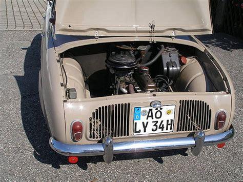 renault dauphine engine renault dauphine 1960 engine flickr photo sharing