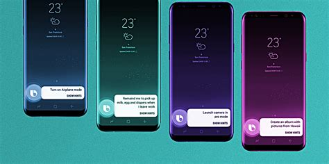samsung bixby list of bixby voice commands for galaxy s8 s8