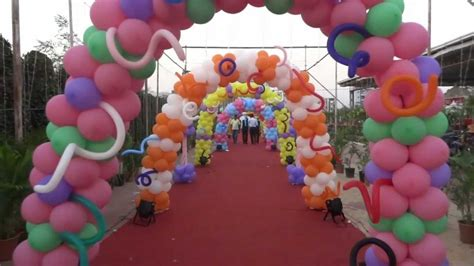 birthday decorations at home photos balloon decoration for birthday party contact 91 9963 52