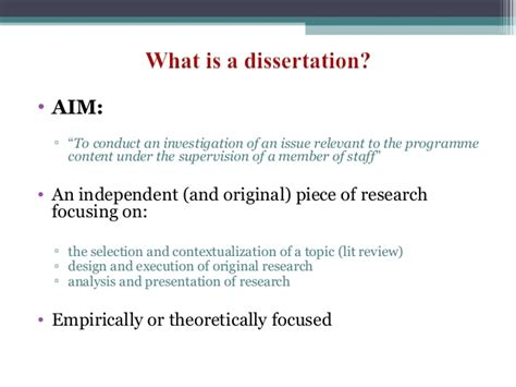dissertation workshop ma dissertation workshop