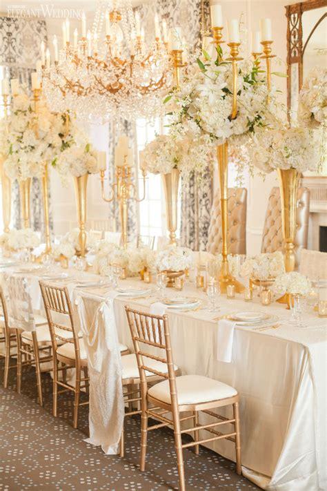 glamorous gold and ivory wedding theme elegantwedding ca