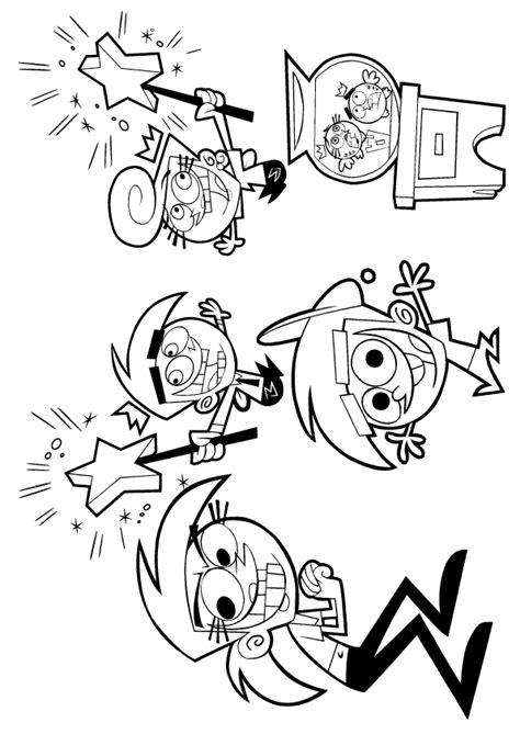 The Fairly Oddparents Coloring Pages fairly parents coloring pages learn to coloring