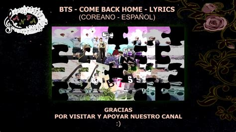 bts come back home hd lyrics ko es anfa