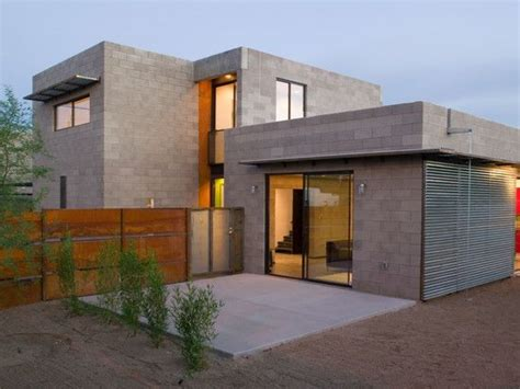 concrete block house modern concrete block exterior concrete block types