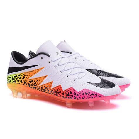 orange football shoes nike hypervenom phantom premium fg football cleats for
