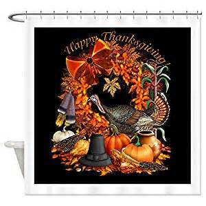 cafepress thanksgiving shower curtain