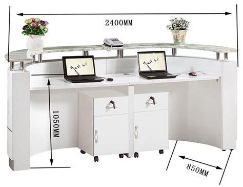 nail salon reception desk high gloss nail salon half modern design reception