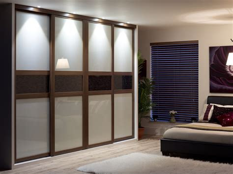 Red Bedroom Ideas by 4 Door Sliding Wardrobe Kit Fineline Sliding Wardrobe