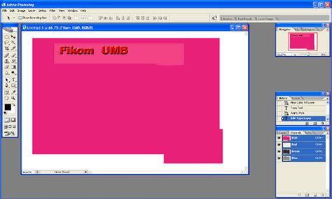 Cara Layout Menggunakan Photoshop | cara design layout halaman web menggunakan photoshop