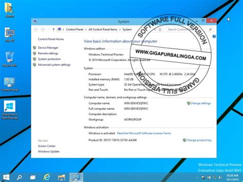 review the windows 10 technical preview license terms windows 10 technical preview official plus serial number