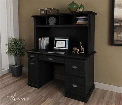 Small Black Desk With Hutch Small Black Desk With Hutch Images