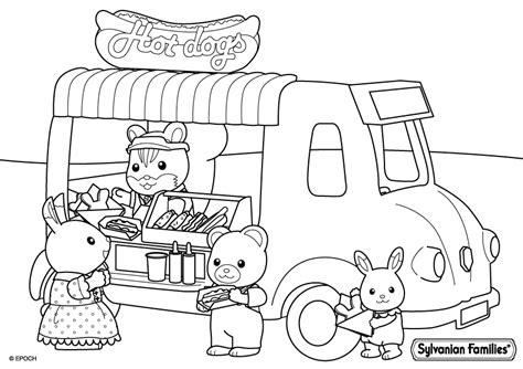 sylvanian family coloring page billedresultat for sylvanian families coloring pages