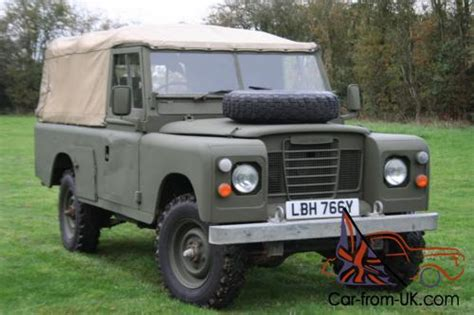 land rover mod land rover series 3 109 quot ex mod 200 tdi top
