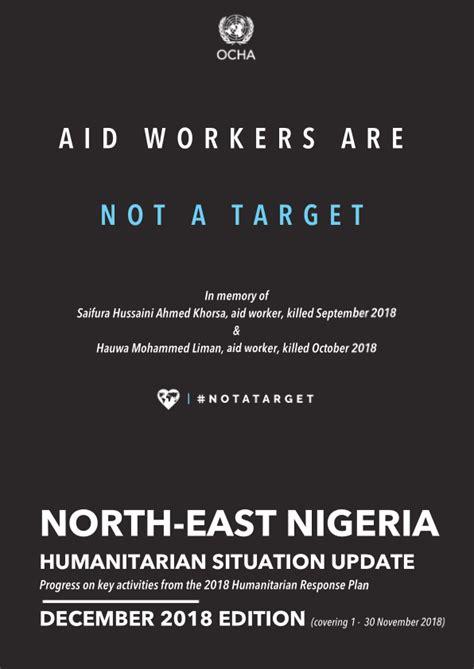 North-East Nigeria: Humanitarian Situation Update