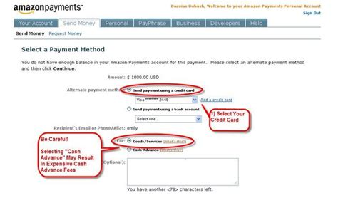 How To Use Amazon Gift Card Without Credit Card - amazon payments for your credit card sign on bonuses million mile secrets