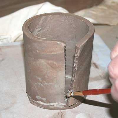 clay figure vessel mr. johnson's art room