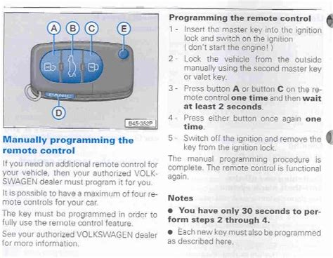 resetting vw key resynching resetting your key