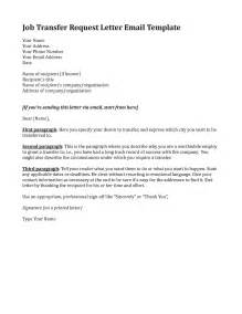 Transfer Request Letter On Family Grounds Sle Transfer Request Letter Chainimage