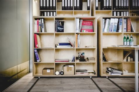 movable bookshelves particular studio particular architects