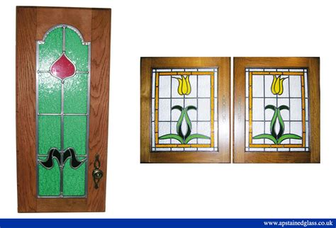 Kitchen Cabinet Doors Ap Stained Glass Glass Panels Kitchen Cabinet Doors
