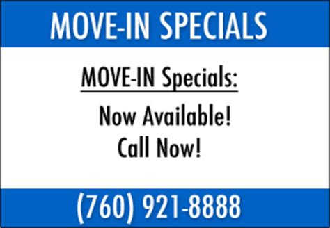 Apartment Move In Specials In Ca Blythe Palm Drive Apartments In Blythe Ca Offering