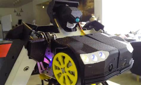 Mobil Robot Tranformer Remote Scale 1 12 fully functional transformer remote car